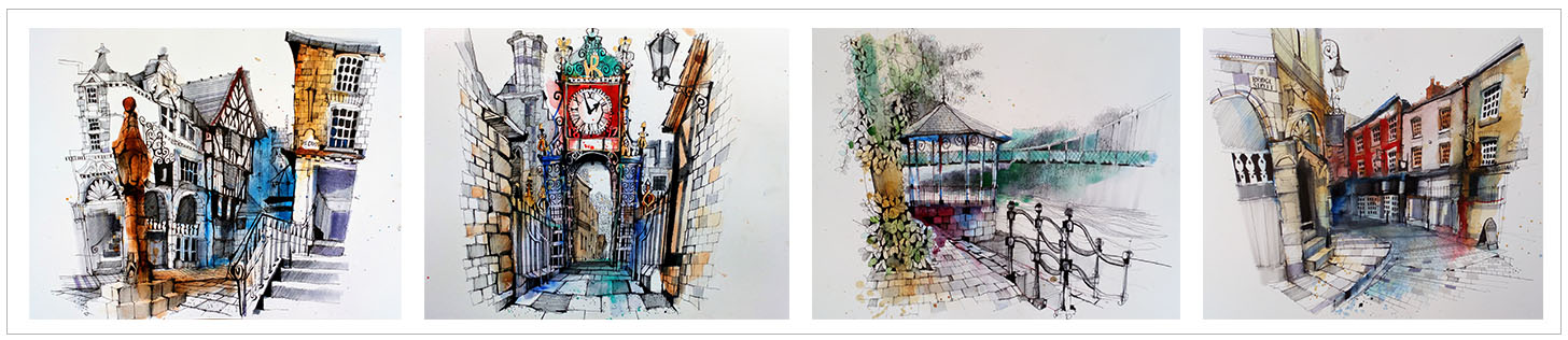 ian fennelly urban sketch course artwork workshops and online course